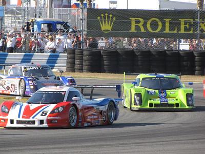 Corvette DP, Action Express DP Lola-Ford, Krohn Racing Riley-BMW, 50+ Predator/Alegra