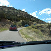 Heading up Skyline Drive on the hogback just west of Canon City.