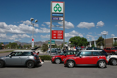 Canon City break. No need to gas up. We're really glad we don't use diesel.