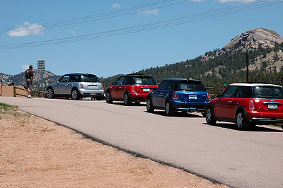 Quick break along the scenic byway, before heading into Cripple Creek, which is east of Pike's Peak.