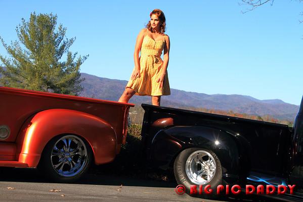 Two Trucks & A Model Nov., 2011