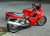 Ducati added the ST4 model in 1999 as a partial replacement for the Paso, but also as a more serious entry into the burgeoning Sport Touring market. <br /> <br /> The ST4 was based on the four-valve Desmoquattro motor derived from the series 916 super bike.<br /> <br /> The ST4 remained in production until 2004; this one is from 2003.