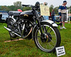 """The stuff of myths and legends<br /> <br /> The Vincent Black Shadow was a hand-built motorcycle produced by Vincent HRD from 1948. The series """"C"""", which was introduced in 1949, had a 998 cc (60.9 cu in) on 50 degree OHV V-twin engine running a 7.3:1 compression ratio.<br /> <br /> The reason for its name """"Black"""" Shadow was that the entire bike (including the engine) was black including baked enamel crank-case and covers. It was very different from anything else at a time when everything was polished and chromed. <br /> <br /> Fewer than 1,700 Vincent Black Shadows were made, all hand-assembled.<br /> <br /> HST maintained that if you rode  a Black Shadow at speed for any length of time you would surely die."""