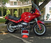 """The BMW R1100RS -- """"Sports Touring (what does that even mean?) Motorcycle"""" -- was manufactured by BMW Motorrad between 1993 and 2001. It was called The Oilhead as the engine heat was extracted thru an oil cooler so the heads could remain traditionally air-cooled.<br /> <br /> This was Beemer's first frame-less design, using the engine as a stressed structural member; something I believe my 1967 Matchless and Nortons of that era had.<br /> <br /> Cylcle World awarded the R1100RS Best Standard Motorcycle -- which in the industry means """" versatile, general-purpose street motorcycle"""" -- of 1994. <br /> <br /> I did not call."""