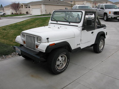 Tyson's New Jeep