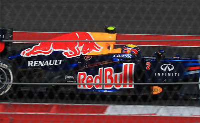 Australia's Mark Webber qualified third but finished next to last after early electrical problems shut down the car out on course.