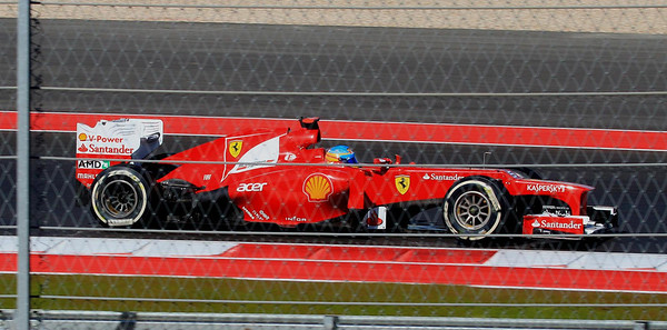 Fernando Alonso, driving for Ferrari, was second in World Championship points coming into this race.