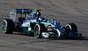 Nico Rosberg finished second behind teammate Alex Hamilton.