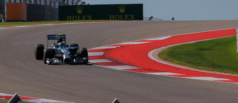 Rosberg in turn 9.