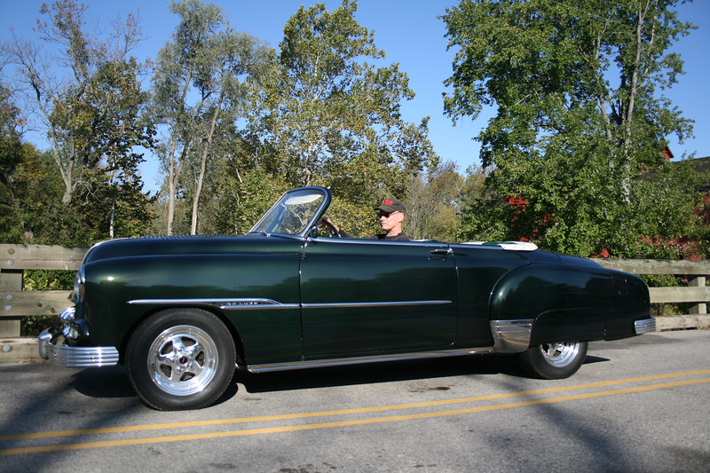 Rebuilt 1951 Chevrolet with a Ford flathead motor