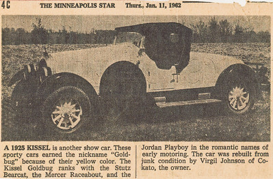 Virgil had a machine shop in Cokato, Minnesota where he did all of his restorations.