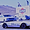 """Cropped photo from 1971 at Laguna Seca by Roger Rogers ( <a href=""""https://www.facebook.com/roger.rodgers.7?fref=ufi"""">https://www.facebook.com/roger.rodgers.7?fref=ufi</a> ).<br /> See full sized photo here: <a href=""""https://sportsracernet.smugmug.com/Cars/Unknown/2016-additions/i-T43xsCV"""">https://sportsracernet.smugmug.com/Cars/Unknown/2016-additions/i-T43xsCV</a><br /> <br /> Chris Plescia says, """"Those look like LeGrand wheels for sure. This is in all likelihood Bob Fox ( Fox Race Cars ). Bob has been running H-Mod, DSR in the San Francisco region for a very long time (and using #94.) In fact, he's the 2015 Regional Champ for DSR at 80 + years old!!! Bob has told me that he ran a LeGrand, but I never saw a picture. This car probably has a Saab engine."""""""