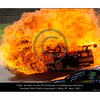 Intense flame consumes Steve Owen's VIP Pet Food car. I wonder if VIP Pet Foods do a baked range of pet foods? Could be the perfect marketing package right here. BBQ Kangaroo and veggies perhaps. I can see our cat licking its lips already!<br /> Time on my camera 10:33.48.42