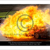 Inferno .... the following images show the car of Steve Owen being engulfed in flame as parts of the cars are still flying about.<br /> Time on my camera 10:33.48.08