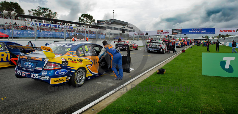 Will Davison getting ready for another win at Barbagallo Raceway