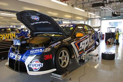 Shane Van GIsbergen's Ford.