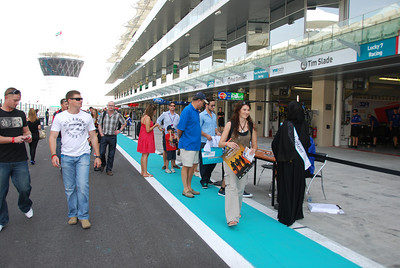 Pit walk Friday.