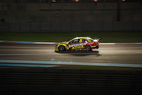 V8 Supercars in Abu Dhabi