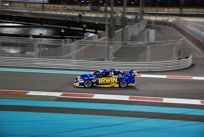 Alex Davison who finished second and seventh in the two races held in Abu Dhabi.