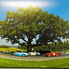 Sited along the fast uphill sesses, up to Virginia International Raceway's signature Oak Tree Turn.
