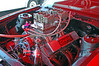 The CHRE engine is 263 cu. in. (a small block) that will propel this car to 154 MPH in a quarter mile.