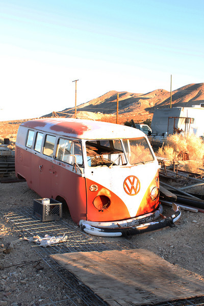 This is a '63 bus on David Reese's property.