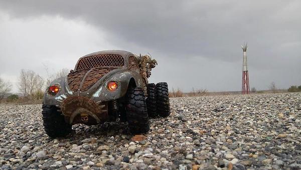 Flintstone Madmax Pick Up Bug Patineto
