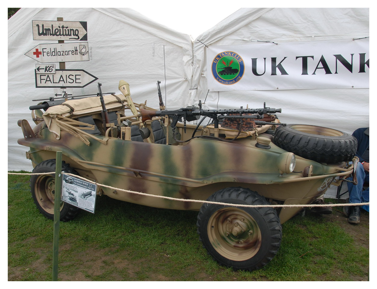 Military Odyssey 2006 on the UK Tank Club stand.