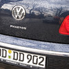 A VW Phaeton on the street in Dresden which is also where the Phaetons are built.