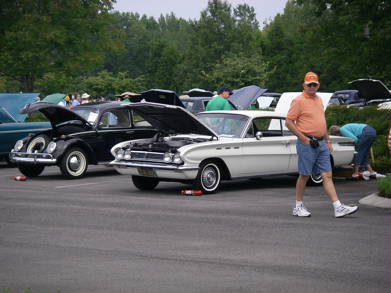 Parked with the competition, at the AACA Nationals, September 2008.