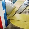 Bristol F2B rear control surfaces