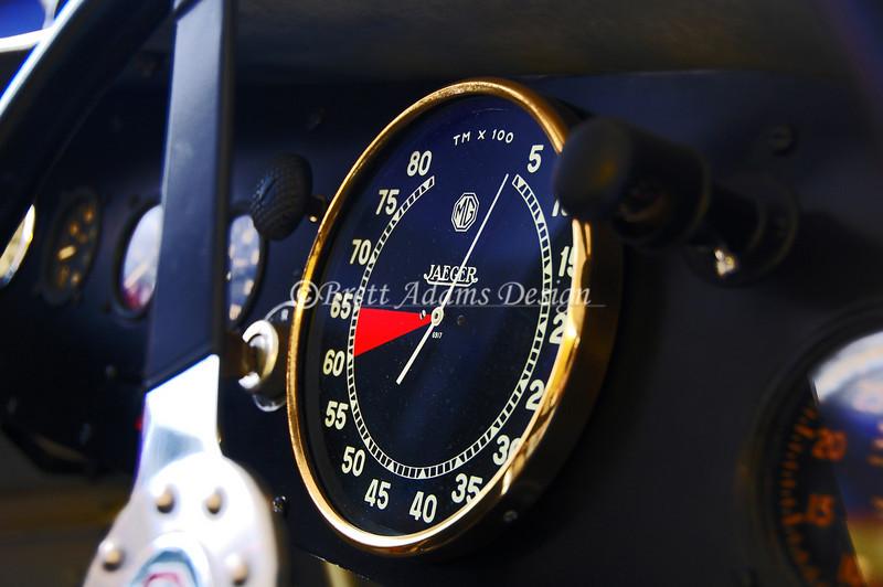 1935 MG PA/PB Leonidis - Tachometer