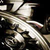 McLaren SLR Wheel Shot - NJ Motorsport Park