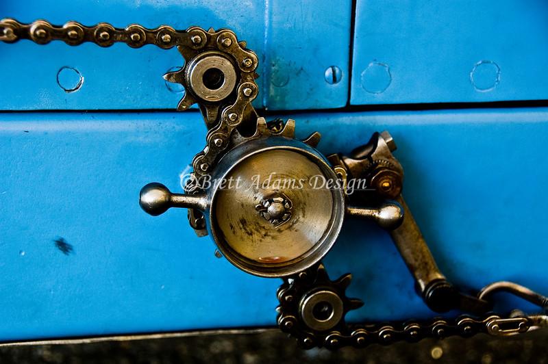1927 Delage Grand Prix Race Car - Brake Adjust