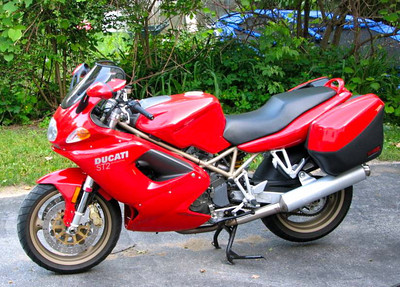 Ducati ST2 that I had only for a short time.