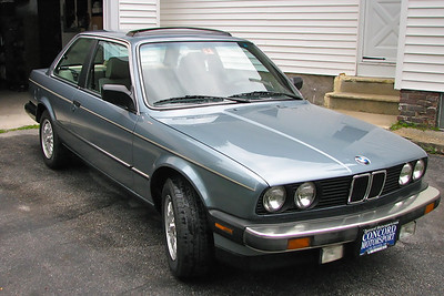 1985 BMW 325.  Great condition for its age.  I owned this in 2007.