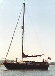 27' sailboat that I had while living in England.