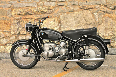 1966 BMW R60 /2.  Fully restored by MAX BMW.