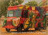 Food Truck with Various Effects
