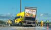 Truck Jackknifed on I-25