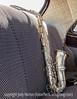 Vintage Silver Saxophone