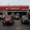 4 Velorexes finished their Route 66 trip in LA, California