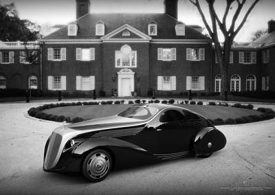 1 off 1935 Rolls-Royce Jonckheere Aerodynamic Coupe II