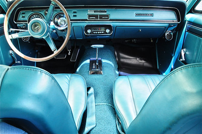 new car interior