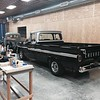 1962 Chevy C-10 (Black) - 1938 Willy's (Gray)