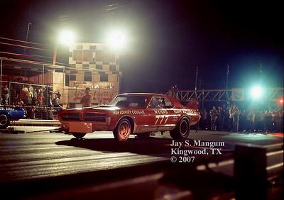 Kenz and Leslie Funny Car, summer 1968.