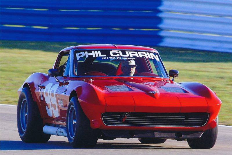 # 99 - 2013, Phil Curran track time at Sebring Spring vintage classic