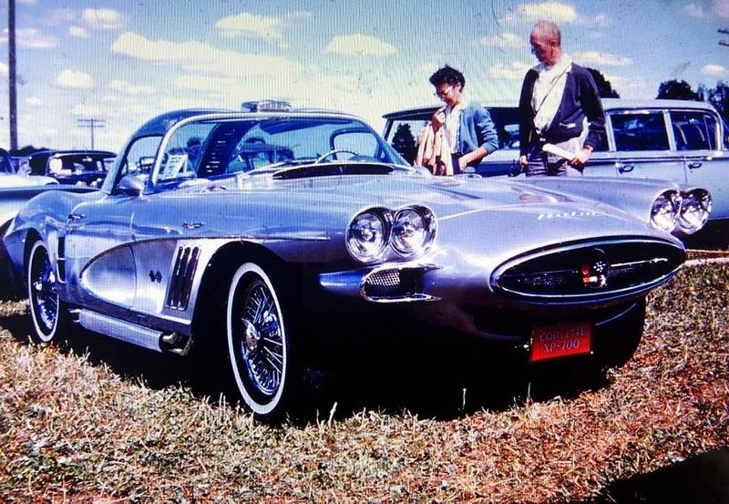 1958 XP-700 Bill Mitchell at Marlbobo