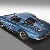 # 614 - 1963 SCCA  AP ZO6, Washburn Chevrolet artwork
