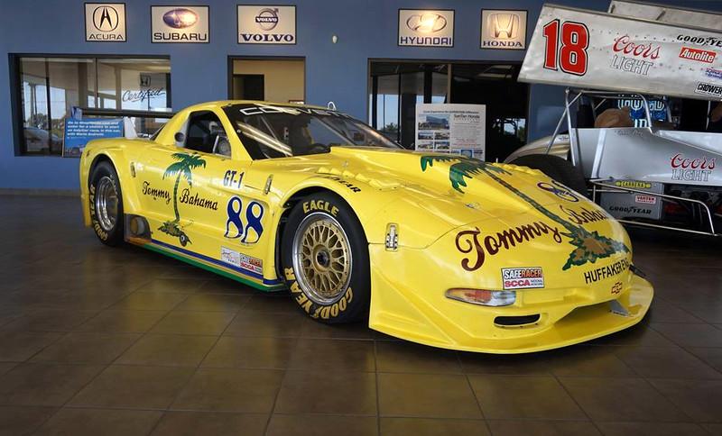 # 88 - 2016 display at Huffaker, 2007 SCCA GT1 Bud Thurston for sale 01